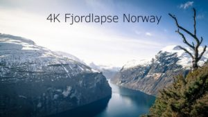 Fjordlapse: The beauty of Norwegian fjords in 4K