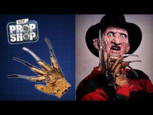 Freddy Krueger's handschoen zelfgemaakte