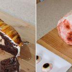 Katherine Dey bakt taarten griezelen