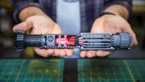 Laserschwert als 3D-Modell zum Ausdrucken