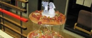When men are in charge of the wedding cake