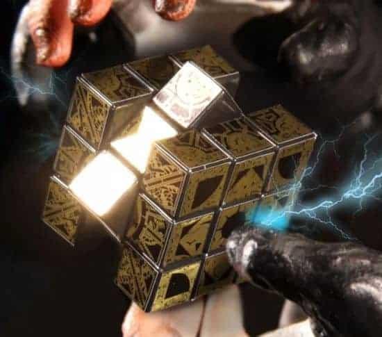 De officiële Hellraiser Rubik's Cube