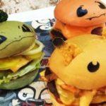Pokémon hamburguesa