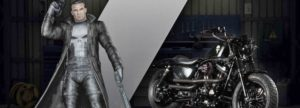 Harley Davidson has designed together with Marvel Motorcycles