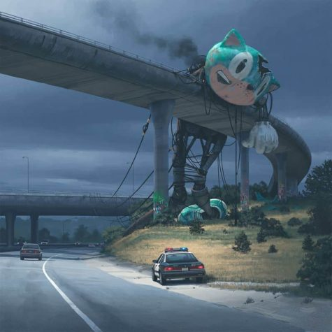 Die dystopischen Bilder von Simon Stalenhag