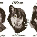 Game Of Thrones: Les Starks Leurs __gVirt_NP_NNS_NNPS<__ Dire Wolves
