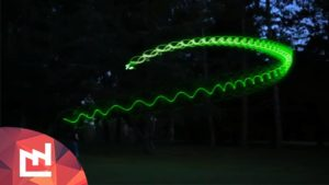 How to tinker a Boomerang, glows in the dark