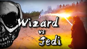 Wizard vs. Jedi