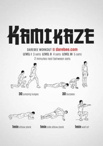 Kamikaze Workout