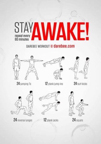 Stay Awake Workout