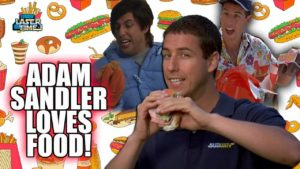 Adam Sandler Loves Food - A Tribute na product placement