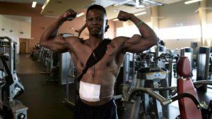 Andrew Jones ist der Body Builder ohne Puls