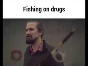 Angeln und Drogen