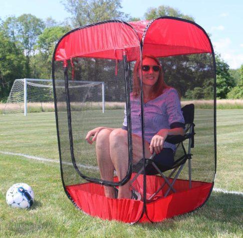 Das mobile Anti-Insekten-Sitzzelt