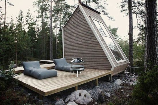 Small apartment in the middle of the Finnish woods