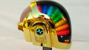 The perfect Daft Punk helmet itself built in 2 Years