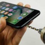Geheimer Hack bringt die Kopfhörerbuchse auf dem iPhone 7 espalda
