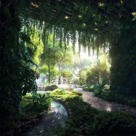 Dubai de lujo: Hotel de la incorporación de la selva tropical