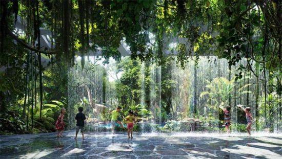 Luxus aus Dubai: Hotel mit eingebautem Regenwald