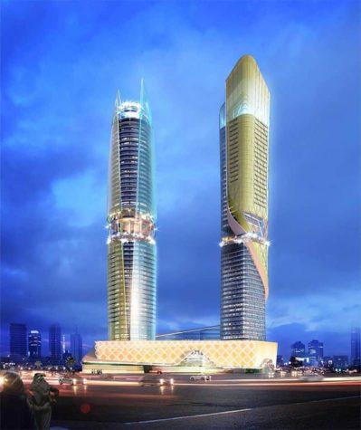 lyx Dubai: Hotellet införliva regnskog