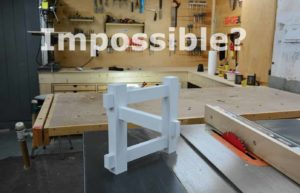 Impossible or illusion: So just one builds an optical illusion