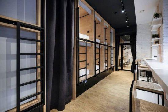 Inbox Capsule Hotel: Schlafboxen für Reisende
