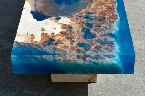 Der Korallenriff-Tisch