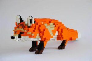 Tiere aus Lego von Felix Jaensch