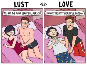 Lust vs. amour