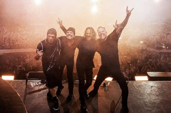 Vandaag Metallica optreden in de Global Citizen Festival in live stream