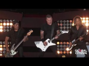 "Metallica: Videos von den Auftritten in der ""Howard Stern Show"" und vom ""Global Citizen Festival"""