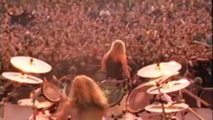 METALLICA: before 25 Years live in Moscow before a 1,6 millions of people