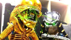 Predator tut sich mit Boba Fett und einem Stormtrooper zusammen, um die Aliens zu bekämpfen