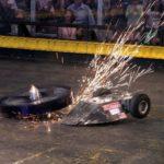 Robot Wars in der Sumo-Ringer stil