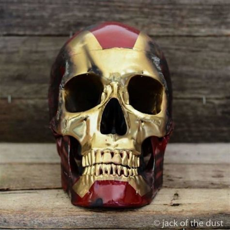 Die dekorativen Totenköpfe von Jack of the Dust