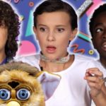 """Stranger Things""-Kids spielen mit Retro Toys"