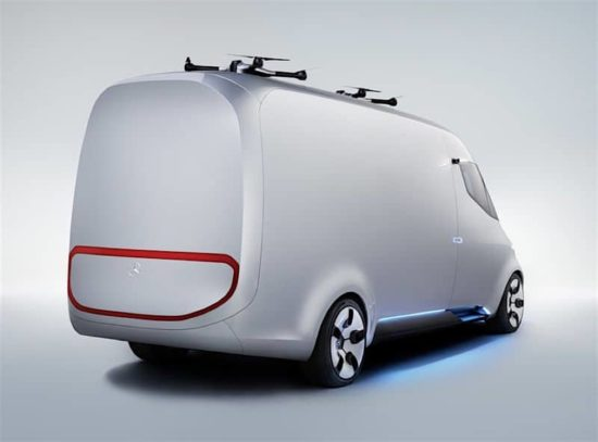 The Vision Van Mercedes-Benz presents the future of the van