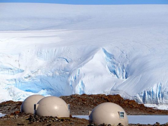 White Desert: Camping in the ice