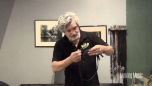 How to wind up cable correctly