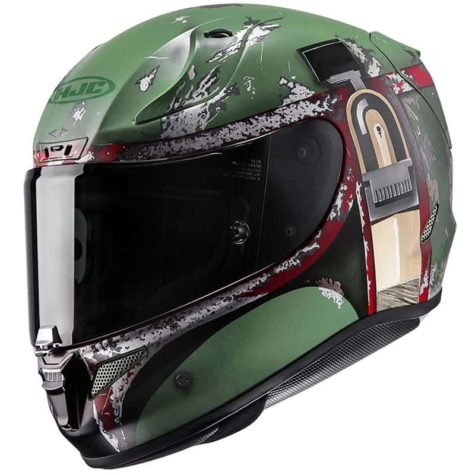 Pop-culture inspired motorcycle helmets