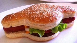 HamDog: The perfect mix of hot dog and hamburger