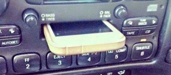 meine iphone dockingstation im auto funktioniert nicht. Black Bedroom Furniture Sets. Home Design Ideas