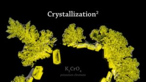 Crystallization: Kristallisation in 4K Nahaufnahme