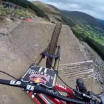 Dan Atherton runs one of the toughest mountain bike trails in the world