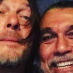 The Walking Dead stjerne Norman Reedus aka Daryl Dixon rockt mit Anthrax und Slayer