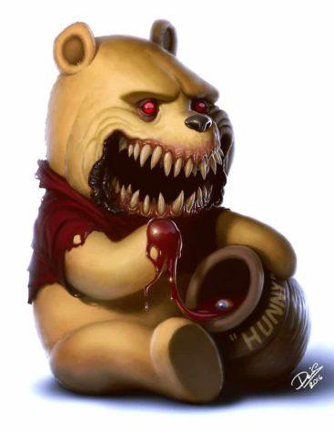Dennis Carlsson finiture simpatici personaggi dei cartoni animati all'horror