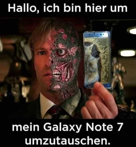 Hallo, Jeg er her for min Galaxy Note 7 å utveksle