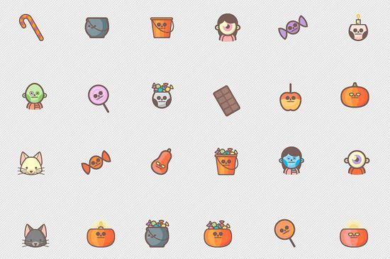 De bedste ikonsæt til Halloween