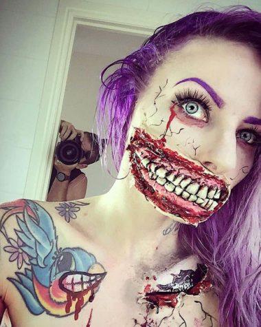 Halloween-Make-up von Sarah Mudle