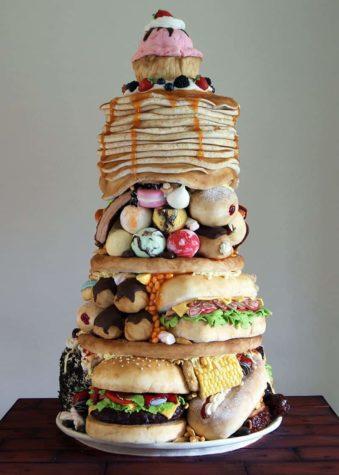 Junk food cake